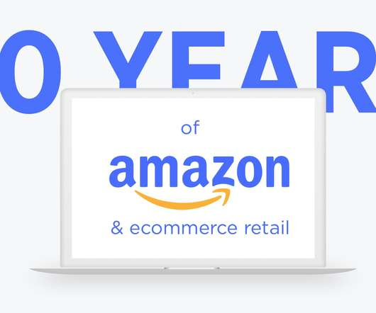 Books online retail today how amazon and independent ecommerce brands grew online sales 18233 in 20 years infographic fandeluxe Gallery